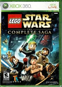 LEGO Star Wars The Complete Saga Xbox 360 New All Six Episodes of Star Wars Fun