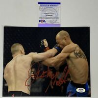 Autographed/Signed JUSTIN GAETHJE UFC MMA Fighting Champ 8x10 Photo PSA/DNA COA