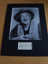 Walter Brennan Genuine Signed Authentic Autograph - UACC / AFTAL
