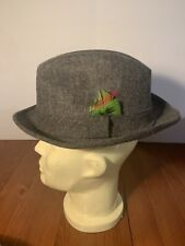 Authentic Vintage  Lee Fedora  - 7 3/8 - Preowned