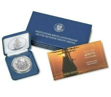 *Confirmed* Mayflower 400th Anniversary Silver Reverse Proof Medal (In-hand)