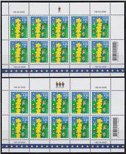 Estonia 2 mint sheets of 10  - Europa CEPT  2000  MNH
