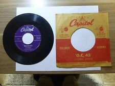 Old 45 RPM Record - Capitol F 2260 - Al Martino - In All This World / Now
