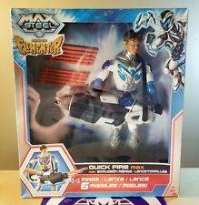 Max Steel Rise Of Elementor Quick Fire Max Mattel New Sealed