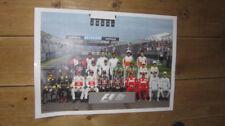 F1 FORMULA UNO 2011 completa anni LINE UP POSTER