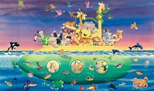NOAHS ARK SUBMARINE WALL MURAL New XL Baby Nursery Wallpaper Animals Decor