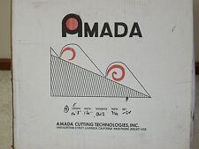 "4 New Amada 16' 8"" x 1 1/4"" x .042"" Bi Metal Bandsaw Band Saw Blades"