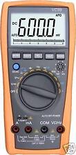 VC99 5999 Auto range digital multimeter tester DMM  analog bar R C F AC DC buzz