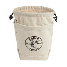 Klein Tools 5416TCP Extra Tall Top Closing Bull-Pin and Bolt Canvas Bag