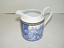 Coventry Palace Garden Creamer Blue Floral PTS International EUC