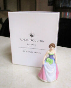 "ROYAL DOULTON  Miniature Figurine  "" Jessica "" - As New Condition - Original Box"