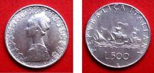 REPUBBLICA ITALIANA 500 LIRE CARAVELLE 1966 ARGENTO