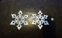 Sizzix Die Cutter CHRISTMAS SNOWFLAKE  Thinlits fits Big Shot Cuttlebug