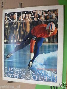 1968-69 SCHAATSEN,ICE SKATING MAIER,BOLS,PFROMMER,THOMASSEN,VERKERK,KELLER, B