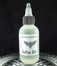 BUFFALO BILL Men's Beard Oil Leather Scent Conditoner Hair Serum 2 oz Horror