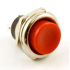 NEW - Momentary Push Button KILL SWITCH For Guitar - RED BUTTON