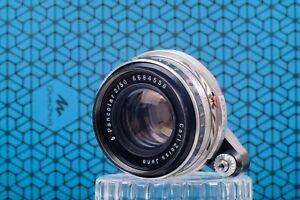 Carl Zeiss Pancolar 50mm f2 Serviced Vintage Camera Lens Exakta Mount