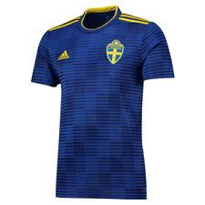 Camisetas de fútbol de selecciones nacionales de manga corta adidas de suecia