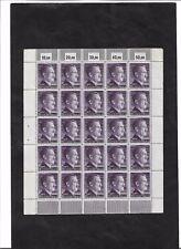 Deutsches Reich, 1942 Michelnr: 800 A **, kompletter Bogen **, Katalogwert € 150
