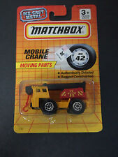 Matchbox Superfast 42 Mobile Crane Thailand