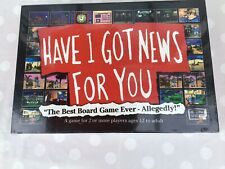 HAVE I GOT NEWS FOR YOU GAME       NEW AND SEALED