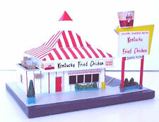KENTUCKY FRIED CHICKEN RESTAURANT KFC 50's Style Fast Food Diner Lefton 1995 MIB