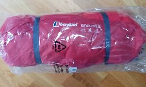 NEW Berghaus Tent Brecon 2 Person Red Lightweight geo dome