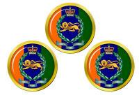 King's Propres Royal Bordure Régiment, Armée Britannique Balle de Golf Marqueur