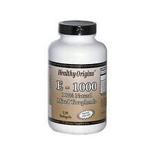 La vitamina E, 1000iu X 120 SGels, Orígenes saludables, 24Hr despacho