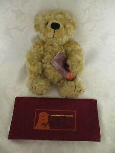 Cliff Richard Teddy Bear, Honeynut, Mohair Fully Jointed Bear, Limited Edition