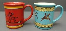 Set of 2 RARE Pendleton Woolen Mills Ceramic 18oz Coffee Mugs