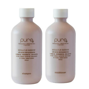 PURE Miracle Renew Shampoo & Conditioner 300ml DUO