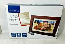 "INSIGNIA 10"" Digital Photo Frame Premium NS-DPF10WW-17"
