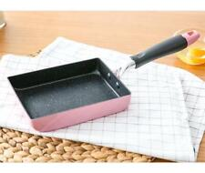 Square Frying Food Pan Japanese Omelette Egg Roll Cooker Cookware Non-Stick
