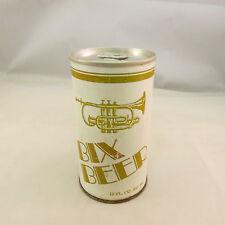 Vintage Bix Beer can, empty, pop tab top, 12 oz - Schell's Brewery