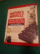 Nature's Miracle Self-Cleaning Litter Box Refill Odor Control Receptacles 18 ct.