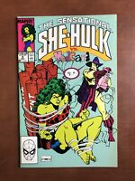 Sensational She-Hulk #9 (1989) 7.0 FN Marvel Key Issue Copper Age Comic Book