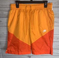 Nike Sportswear Windrunner Track Shorts AR2424 Peel Team Orange Medium