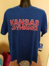 NWT Adidias Kansas University Jayhawks shirt size Medium Free Ship