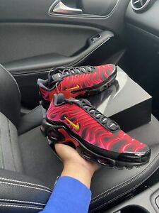Supreme x nike air max plus tn Black, Red UK 7