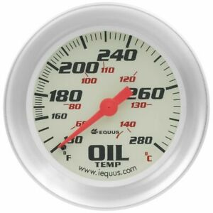 Equus 8443 8000 Series Oil Temp Gauge