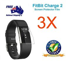 3X Fitbit Charge 2 Screen Protector Cover Film Anti-Scratch Waterproof SA SELLER