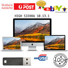 MAC OS HIGH SIERRA 10.13.2 usb installer replaces DVD macbook air pro mini boot