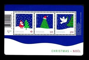 Canada Stamps — Souvenir Sheet of 3 — 2016 Christmas: Rolf Harder #2954 — MNH