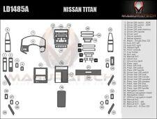 Fits Nissan Titan 2008-2015 With Bucket Seats Large Premium Wood Dash Trim Kit