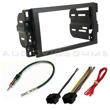 Select 06-Up Chevrolet/GMC Double DIN Dash Mount Kit+Harness+Antenna Adapter