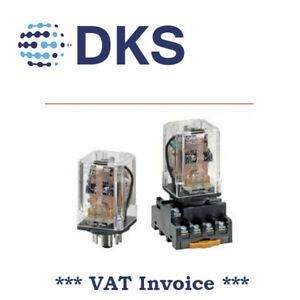 Omron MK2KP 110VAC Latching Relay 11 Pins 2xNO/NC DPDT 10A 001492