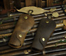 Men's Genuine Leather Vintage Car Key Chain Ring Cases Holder Bag Wallet Purse