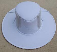 REO Blanc large bord homme en forme de ventilateur chapeau été sz Medium Marques Design K