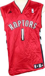 Adidas NBA Men's Toronto Raptors Jarrett Jack #1 Player Jersey, Red